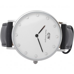 Daniel Wellington Black Classy Shefield Silver 34 Watch