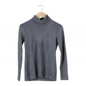 UNIQLO Grey High Neck Sweater