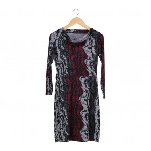 Etoile D´Elfas Multi Colour Mini Dress