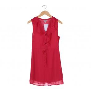 H&M Pink Ruffles Mini Dress