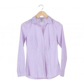 H&M Purple Stripes Shirt