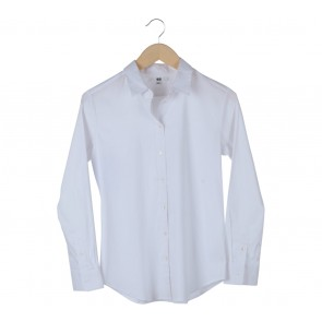 UNIQLO White Basic Shirt