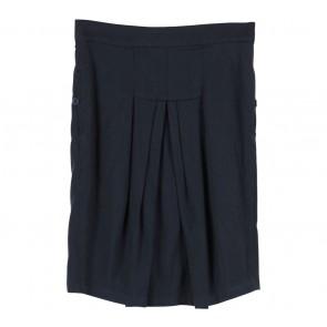 (X)SML Black Preppie Skirt