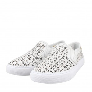 Tory Burch Lennon White Slip On