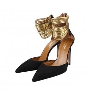 Aquazurra Black Heels