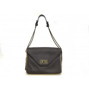 Chloe Grey Shoulder Bag