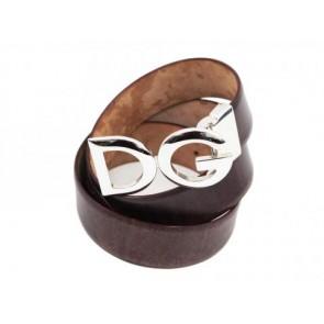 Dolce & Gabbana Maroon Belt