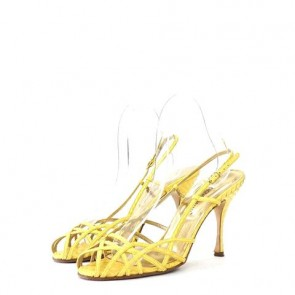 Dolce & Gabbana Yellow Sandals