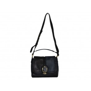 Fendi Black and Blue Sling Bag