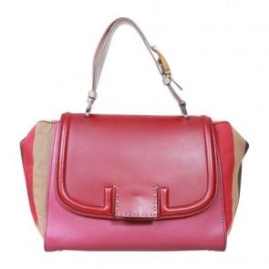 Fendi Red Pequin Silvana Sling Bag