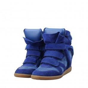 Isabel Marant Blue Bekket Sneakers