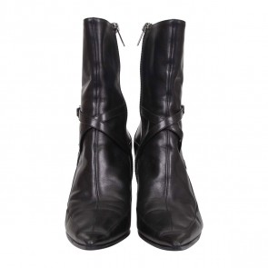 Jimmy Choo Black Point Toe Boots