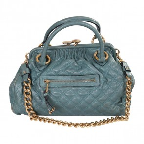 Marc Jacobs Green Stam Tote Bag
