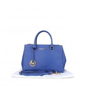 Michael Kors Blue Sutton Tote Bag