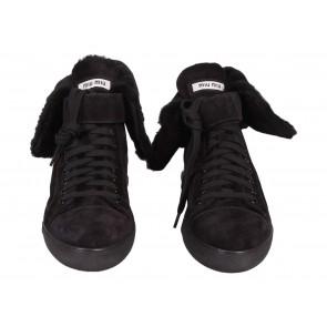 Miu Miu Black Sneakers
