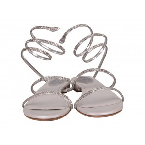 Rene Caovilla Grey Sandals