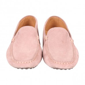 Tod´s Cream Gommini Suede Driving Flats
