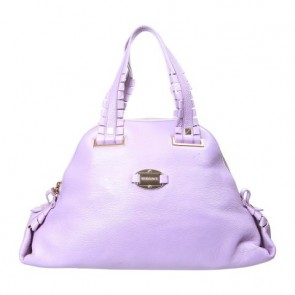 Gianni Versace Purple Tote Bag