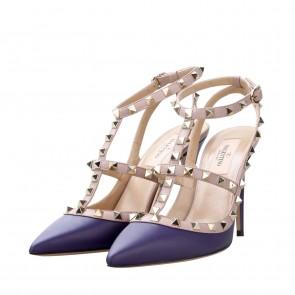 Valentino Purple Heels
