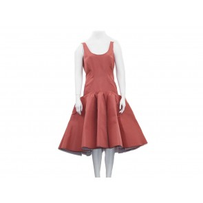 Zac Posen Pink Midi Dress