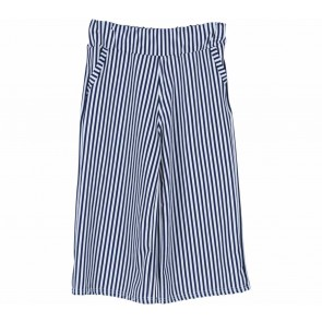 H&M  Blue And White Stripes Pants