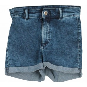Divided Dark Blue Denim Short Pants