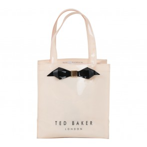 Ted Baker Cream Plain Bow Small Icon Handbag