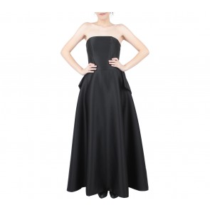 Joel Yonathan Black Back Ribbon Long Dress
