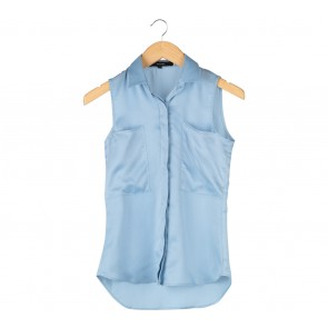 Pomelo. Blue Sleeveless