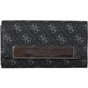 Guess Black Monogram Wallet