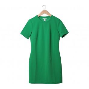 H&M Green Midi Dress