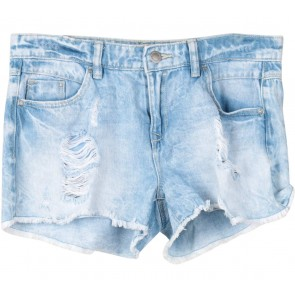 Stradivarius Blue Ripped Pants