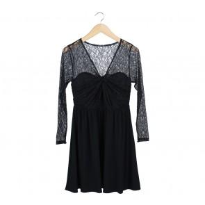 Coast Black Mini Dress