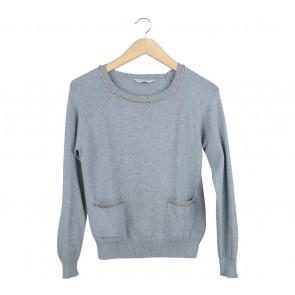 Miss Selfridge Grey Sweater