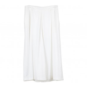 Mango Off White Pants