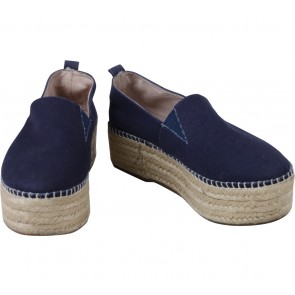 Steve Madden Dark Blue Slip On Sneakers