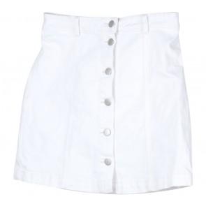 Divided White Skirt
