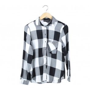 Zara Black And White Shirt