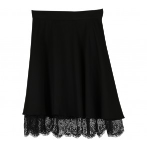 Cloth Inc Black Lace Skirt