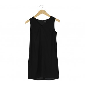 Cloth Inc Black Slit Sleeveless