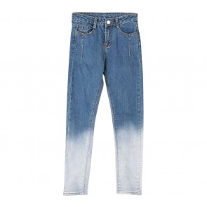 Blue Tie-Dye Jeans Pants