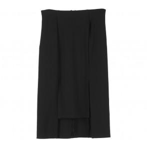 Cloth Inc Black Slit Skirt