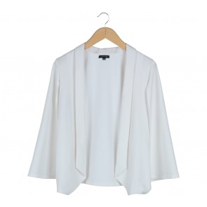 Cloth Inc White  Cape Blazer