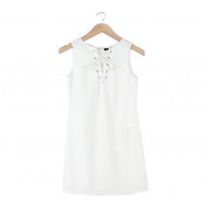 Cloth Inc White Mini Dress
