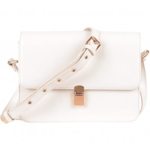 Suma´s Style Cream Flap Sling Bag