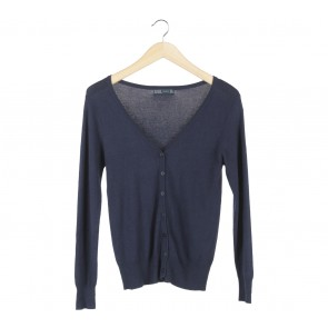 Zara Dark Blue Cardigan