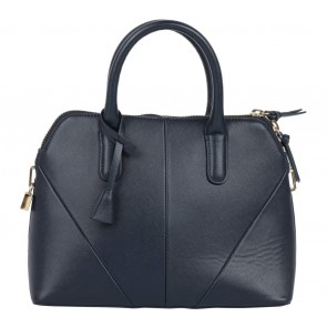 Zara Dark Blue Satchel