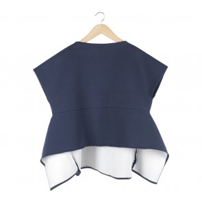 Duma Dark Blue Blouse