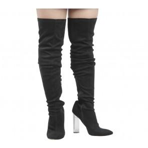 Public Desire Black Boots