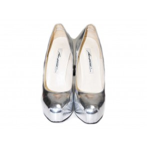 Brian Atwood Silver Heels